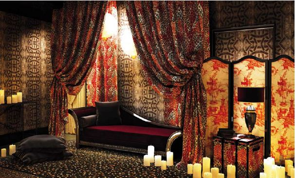 textiles hot off the paris runway design confidential. Black Bedroom Furniture Sets. Home Design Ideas