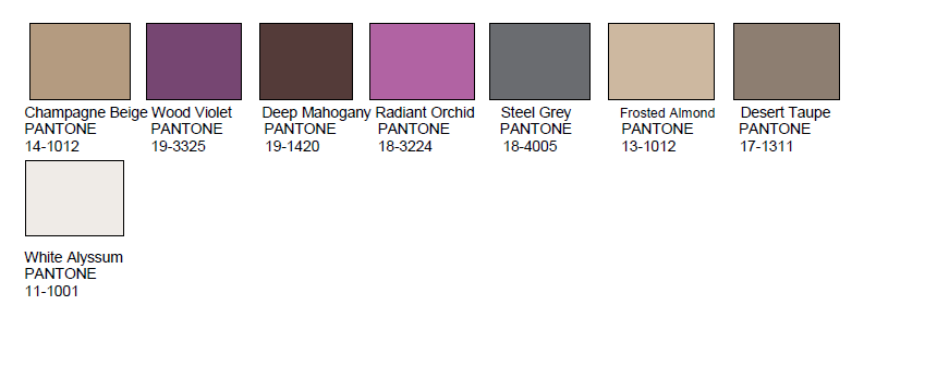 Pantone 2015 Home Color Trends - Design Confidential