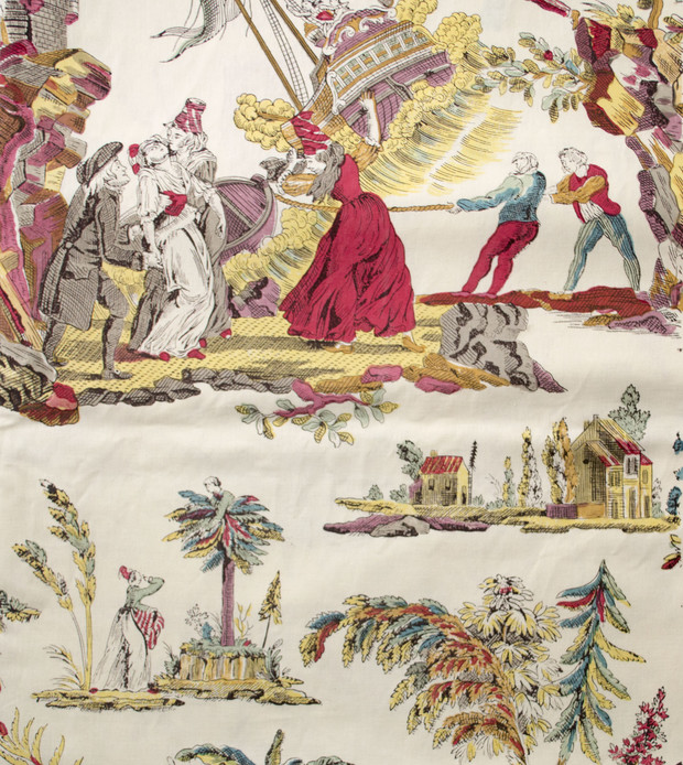 The backstory on toile - Tapisserie toile de jouy ...