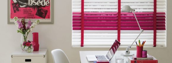 color blocked metal blinds