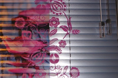 patterned metal blinds