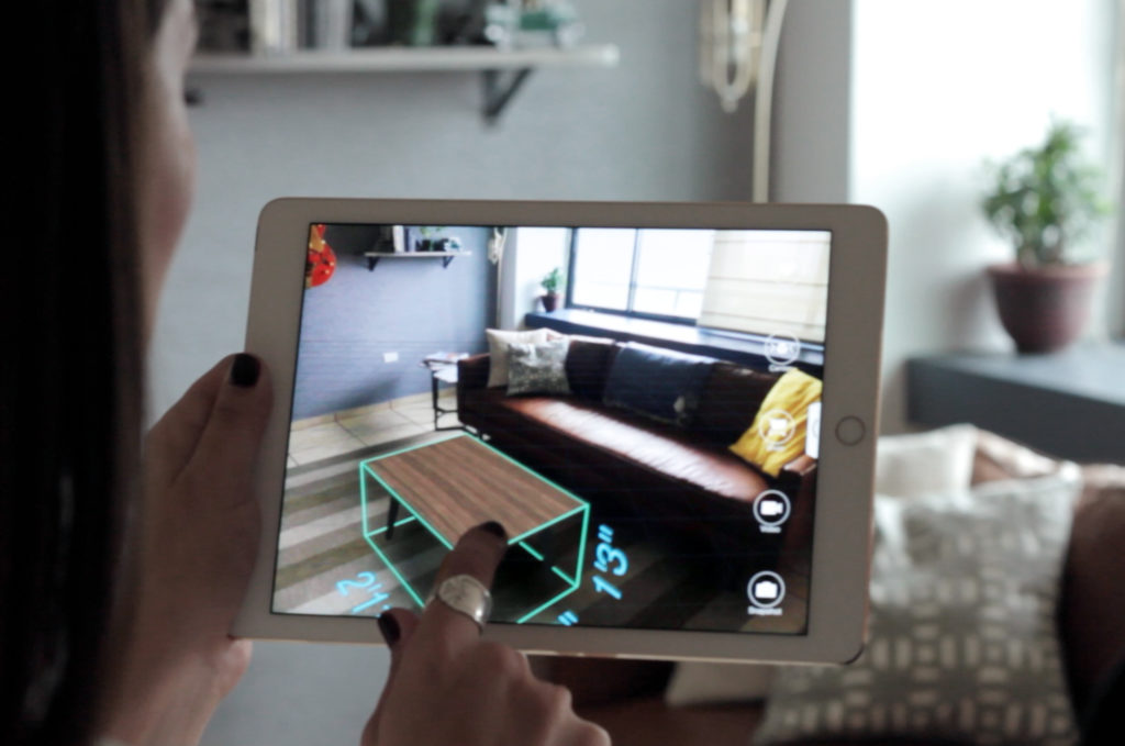 Seeing is Buying: A Designer's Snapshot for AR - Augmented Reality