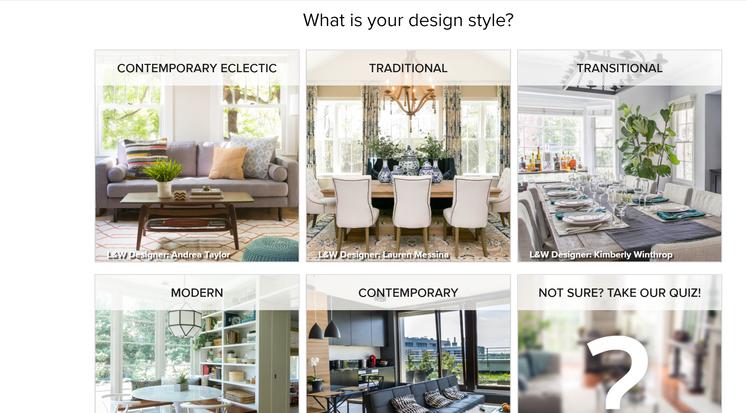 Home Depot + Laurel & Wolf - Design Confidential
