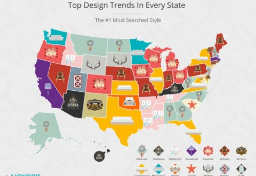 Top Design Trends by State Thumbnail